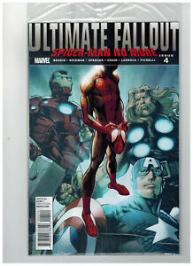 ULTIMATE-FALLOUT-4-1st-Printing-Miles-Morales-Spider-Man-2011-Marvel