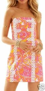 53fcf83ba95d Image is loading NWT-LILLY-PULITZER-Tansy-Strapless-Dress-Sunshine-Yellow-