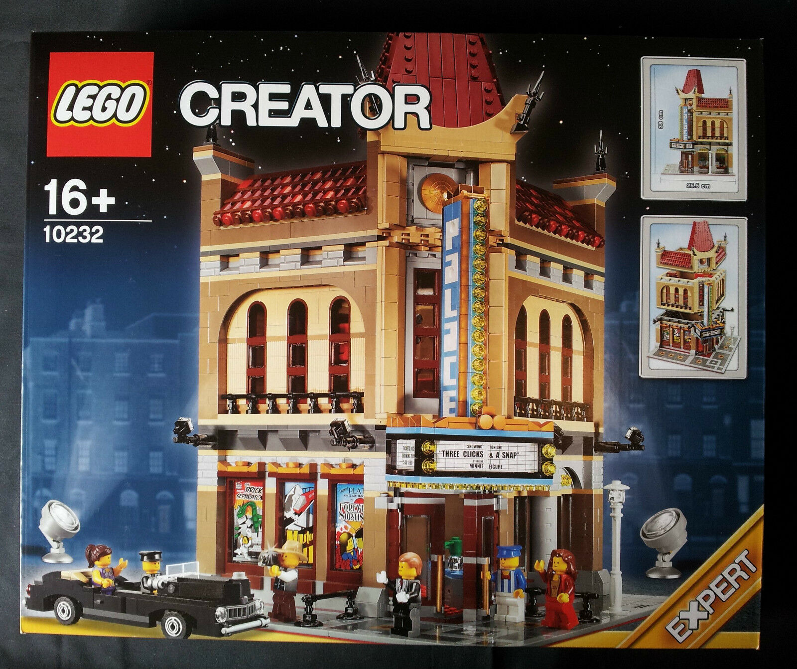 LEGO MODULAR BUILDINGS 10232 - PALACE CINEMA  NUEVO SELLADO SELLADO SELLADO   NEW SEALED 1813db