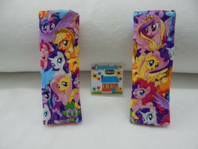 Seat Belt Covers My Little Pony Party Child Car Seat Highchair Pram Stroller