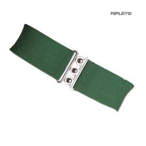 Hell-Bunny-Retro-50s-Waist-BELT-Rockabilly-Elasticated-GREEN-Version-2-All-Size