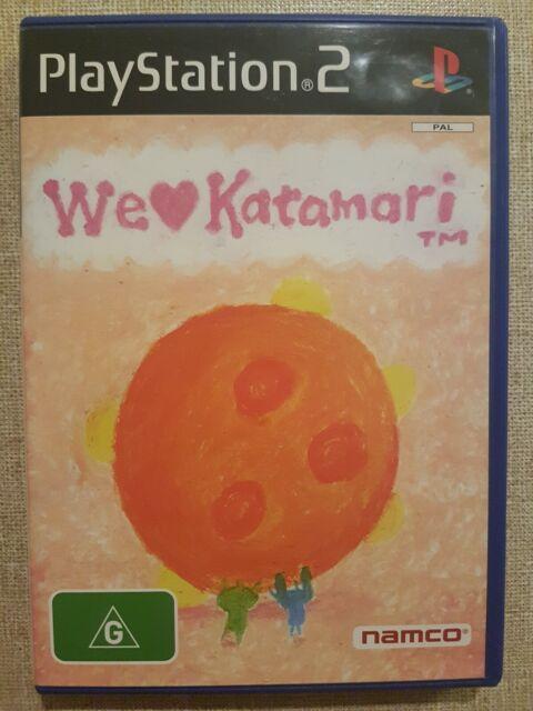 We Love Katamari (Sony Playstation 2, 2005) Ps2 AUS PAL