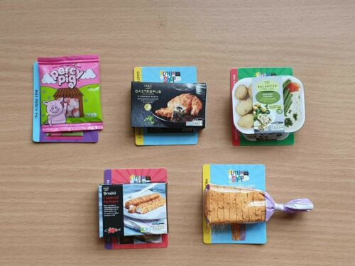 Marks /& Spencer M/&S LITTLE SHOP  Choose your collectable NEW out of the packet