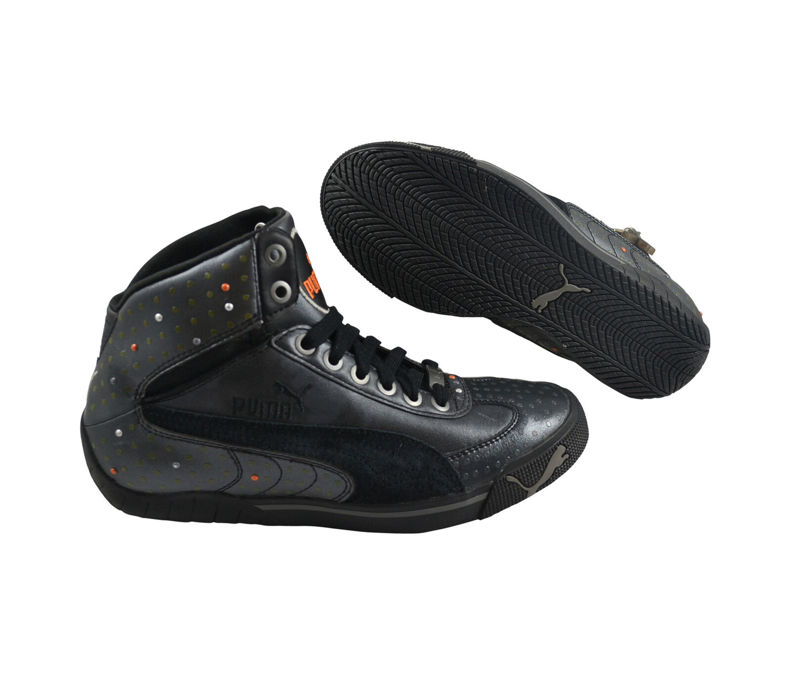 Puma Speed Cat 2.9 Charm Wn's Mid black/black/nectarine Schuhe/Sneaker 303275 03