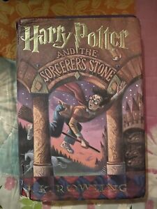 Harry Potter and the Sorcerer's Stone Hardcover First 1st US Edition JK Rowling