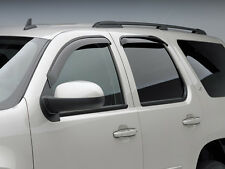 Side Window Wind Rain Deflector Honda Pilot - 2009-2015 - Dark Smoke - 4 pcs.