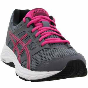 ASICS-Gel-Contend-5-Casual-Running-Shoes-Grey-Womens