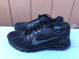 Details about Men's Nike Air Max+ 2013 US 9 Black Dark Grey Running Shoes 554886 001 $160 A2