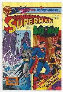 SUPERMAN / BATMAN - Heft 6 - 17. März 1982 - Wien, Österreich - SUPERMAN / BATMAN - Heft 6 - 17. März 1982 - Wien, Österreich