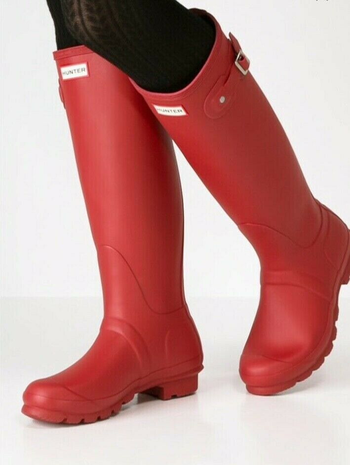 more photos 1fbee 5eb39 Hunter Hunter Hunter Original Tall Gummi Stiefel Gr.43 NEU ...
