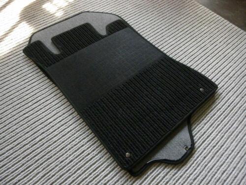 Rips Fußmatten für Mercedes Benz R129 W129 SL Druckknöpfe schwarz