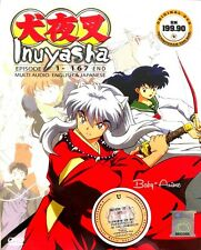 DVD Anime INUYASHA Complete Boxset Series (1-167)End English Dubbed Free Postage