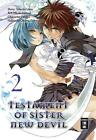 Testament of Sister New Devil 02 von Nekosuke Okuma, Tetsuto Uesu und Miyakokasiwa (2016, Taschenbuch)