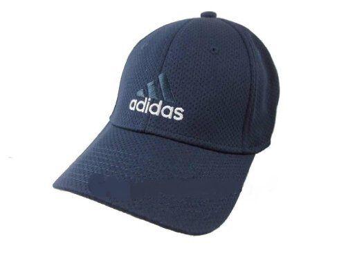 45652b57 adidas Climalite Sweat Nothing Baseball Stretch Fit Hat Cap Black S/m