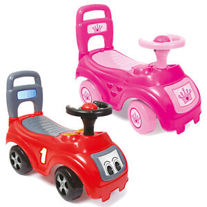 Dolu My First Ride On Kids Toy Cars Girls Boys Push Along Toddler 12