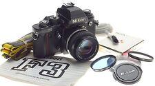 PRESS NIKON F3 HP TYP FINDER 35mm FILM CAMERA 1.4/50 NIKKOR 50mm 1:1.4 LENS KIT