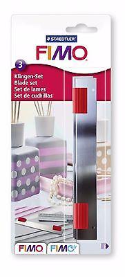 Fimo Set Of Three Straight Cutter Blades 870014