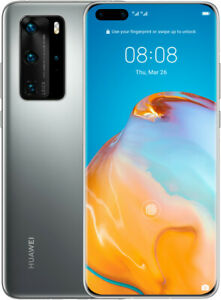 Huawei p40 Pro 5 g 256 Go Double SIM silver frost, neuf Autres