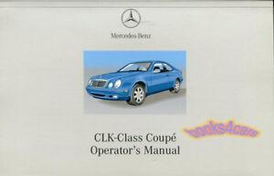 clk320 owners manual 2002 mercedes handbook guide book clk 320 benz rh ebay com Mercedes-Benz E-Class Owner's Manual Mercedes-Benz 2006 Manual Book