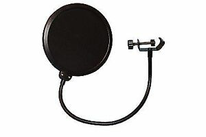 Pop Filter for Studio Microphone Shield Mic Wind Screen Better Vocal  Recordings