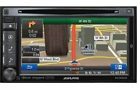 "ALPINE INE-S920HD 6.1"" DVD GPS NAVIGATION RECEIVER ~ PARAMETRIC EQ X-OVER 4 VOLT"