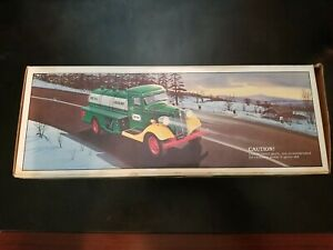VINTAGE 1985 The First Hess Truck Toy Bank  Box a little damaged