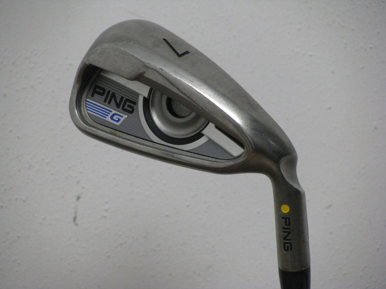 Ping G Series Amarillo Dot 7 Hierro rígido  de la flexión Ping AMT 2.0 Acero CP2 Pro  Excelente   disfruta ahorrando 30-50% de descuento