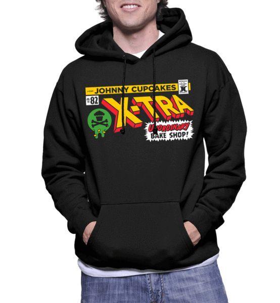 SPECIAL Johnny Cupcakes Pullover Sweatshirt: X-Tra Unordinary (UNISEX)