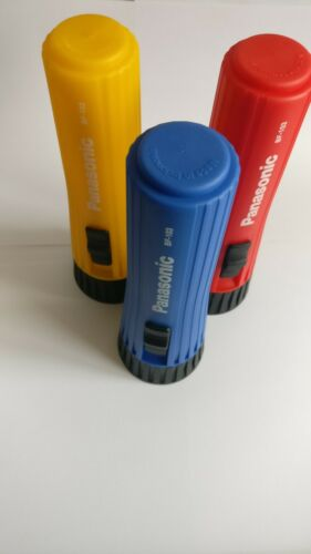 /& get ONE *FREE! Panasonic bulb type torch 2x D cell flashlights Qty 3 colours