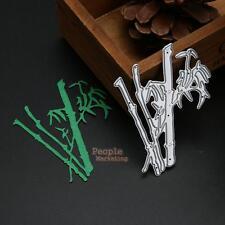 Bamboo Cutting Dies Stencil DIY Scrapbooking Paper Album Decor Cards Hand Craft