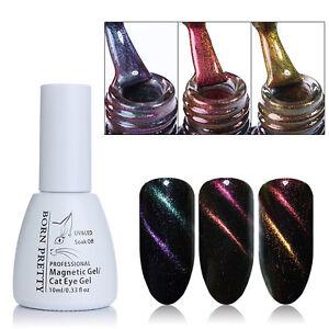 BORN-PRETTY-Chameleon-Magnetic-UV-Gel-Nail-Polish-Soak-Off-Cat-Eye-Gel-Varnish