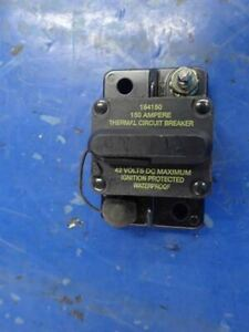 Cooper-Bussman-184150-Thermal-Circuit-Breaker-150-Amp-Manual