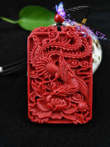 Fashion-Chinese-Natural-Red-Organic-Cinnabar-Phoenix-Pendant-Lucky-Amulet-Hot