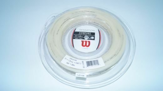 NEUWilson Sensation 1.25mm Tennis Saiten Rolle 200m 17 comfort comfort comfort string reel new 4f4f65
