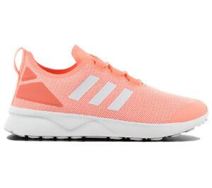 nouveaux styles 61c1f afbc0 Details about Adidas Zx Flux Adv Verve W Women's Sneaker BB2283 Orange  Casual Shoes