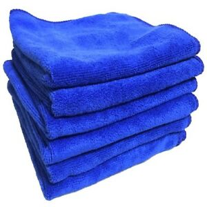 """6 pcs Microfiber Towel Cleaning Cloth for LED TV Tablet Auto Care 11"""" x 11"""""""