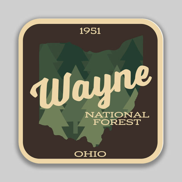 Wayne National Forest Decal Sticker Explore Wanderlust