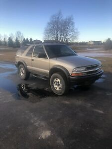 2005 Chevrolet blazer zr2 limited edition