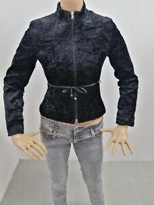 Giubbino-PINKO-Donna-Taglia-Size-40-Jacket-Woman-Veste-Femme-Viscosa-P-7303