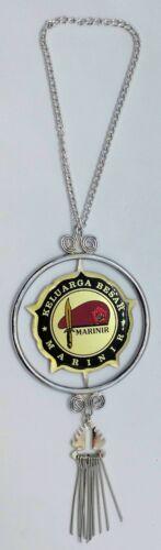 Indonesia Navy Marine Corp Marinir KKO Rear View Mirror Medallion Emblem New