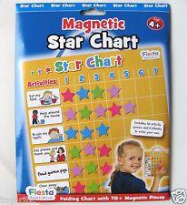 FIESTA CRAFTS FOLDING MAGNETIC REWARD STAR CHART - BRAND NEW!!
