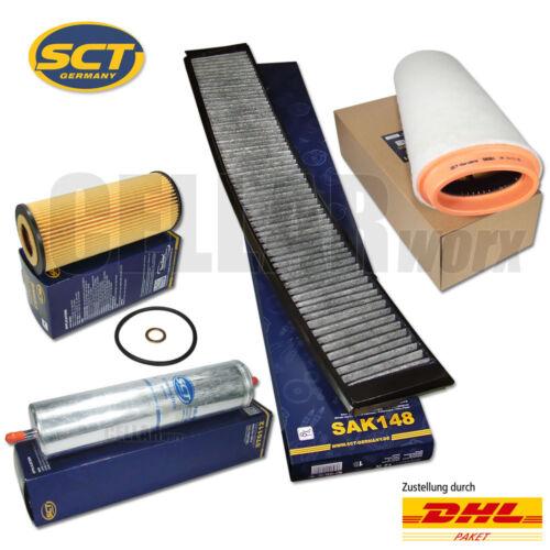 Filterkit inspektionskit conjunto de filtro Filtro Filterset bmw 3er e46 320d 150 CV