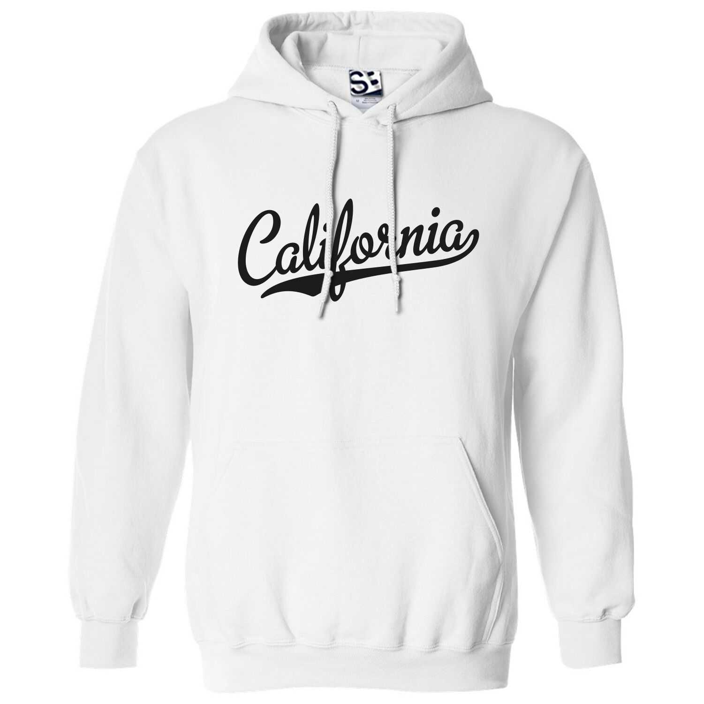 California Script & Tail HOODIE - Hooded Republic Team Sweatshirt - All colors