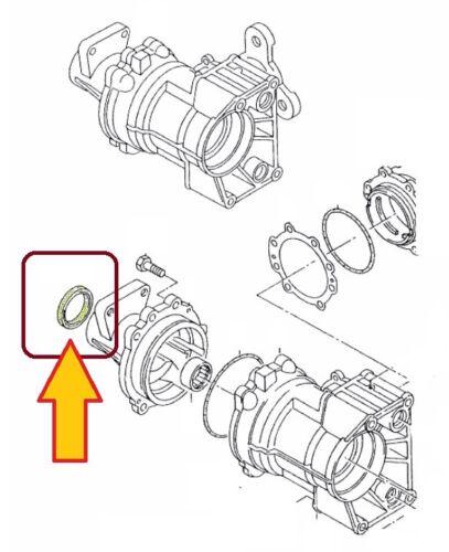 8D2, B5 siehe Liste unt 1 St Wellendichtring 45x60x8 Getriebe AntriebsAUDI A4