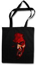 DEMON HEAD SHOPPING BAG Pentagramm Satan Hell Satanism Pentacle Monster