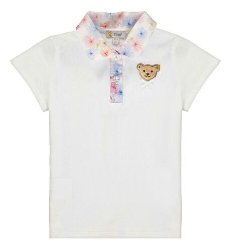 STEIFF® Mädchen Poloshirt T-Shirt kurzarm Bär Blumenprint 80-122 F//S 2020 NEU!