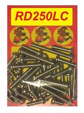 Yamaha RD250LC - Crankcase Covers Kit - A2 Stainless Philips Head Screws
