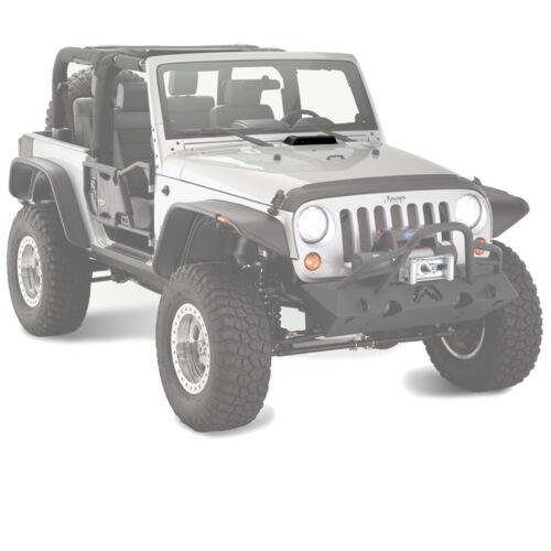 Bushwacker Air Scoop Trail Armor 07-18 Jeep Wrangler JK JKU 15001 Smooth