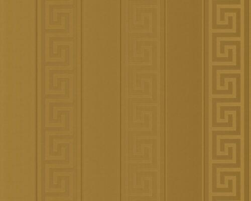 Versace Home Tapete Vlies Streifen Griechisch gold Glanz 93524-2 7,88€//1qm
