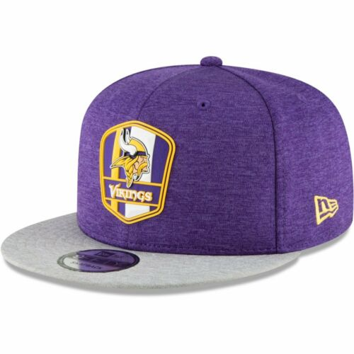 New Era Snapback Cap Sideline Away Minnesota Vikings